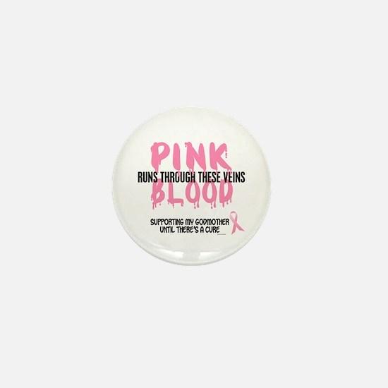 Pink Blood 1 (Godmother) Mini Button