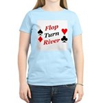 The Ultimate Texas Hold'Em Poker Women's Pink T-S