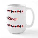 The Ultimate Texas Hold'Em Poker Large Mug