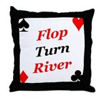 The Ultimate Texas Hold'Em Poker Throw Pillow