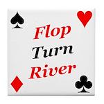The Ultimate Texas Hold'Em Poker Tile Coaster
