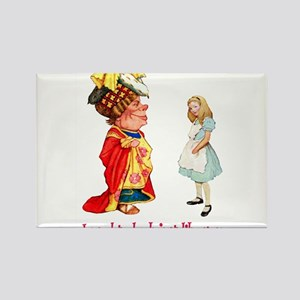 ALICE & THE DUCHESS Rectangle Magnet