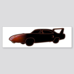 Daytona/Superbird-Orange Bumper Sticker