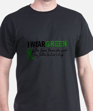 I Wear Green 2 (Sister-In-Law's Life) T-Shirt
