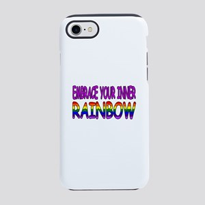 EMBRACE YOUR INNER RAINBOW iPhone 8/7 Tough Case