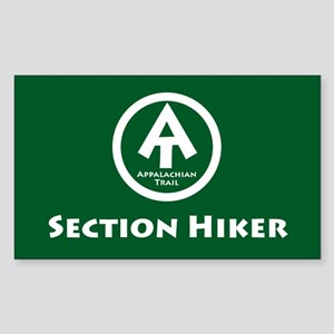 """AT """"Section Hiker"""" Sticker"""