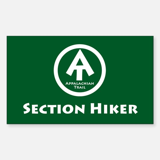 """AT """"Section Hiker"""" Decal"""
