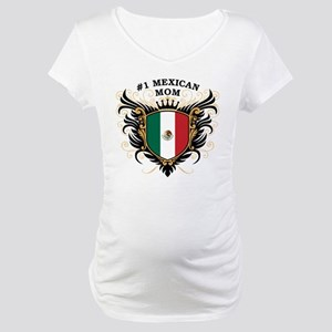 Number One Mexican Mom Maternity T-Shirt