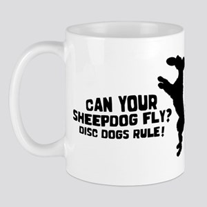 Disc Old English Sheepdog Mug