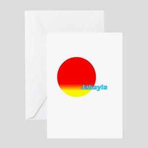 Jakayla Greeting Card