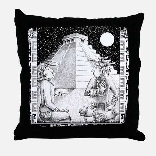 Non-Verbal Communication Throw Pillow