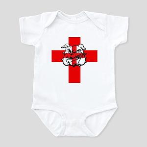 Cross of St George Bulldog Infant Bodysuit