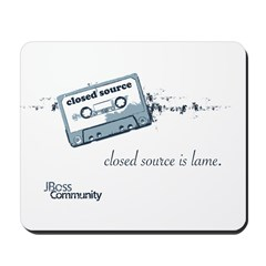Closed Source is Lame Mousepad