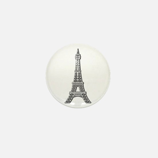Eiffel Tower Mini Button