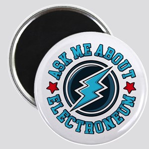 Ask Me About Electroneum Magnets