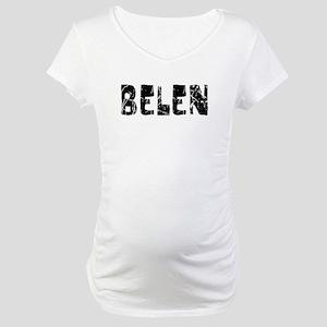 Belen Faded (Black) Maternity T-Shirt