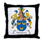 Monheim Family Crest Throw Pillow