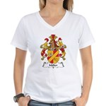 Molter Family Crest Women's V-Neck T-Shirt