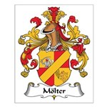 Molter Family Crest Small Poster
