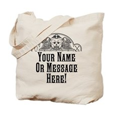 PERSONALIZED Old Gravestone Tote Bag