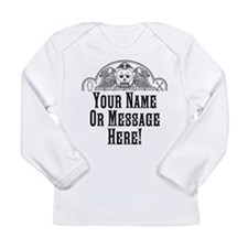 PERSONALIZED Old Gravestone Long Sleeve T-Shirt