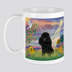 Cloud Angel & Poodle (#2) Mug