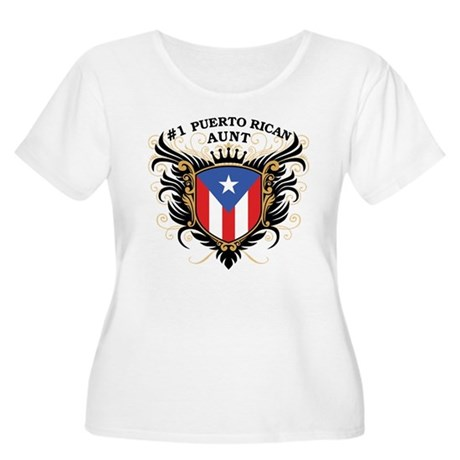 Number One Puerto Rican Aunt Women's Plus Size Sco