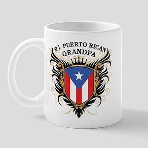 Number One Puerto Rican Grandpa Mug