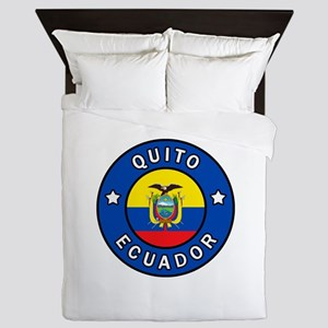 Quito Ecuador Queen Duvet