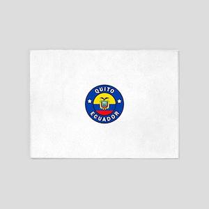 Quito Ecuador 5'x7'Area Rug