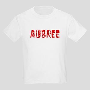 Aubree Faded (Red) Kids Light T-Shirt