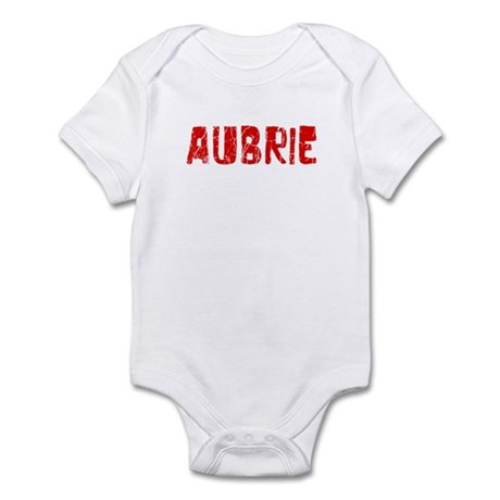 Aubrie Faded (Red) Infant Bodysuit