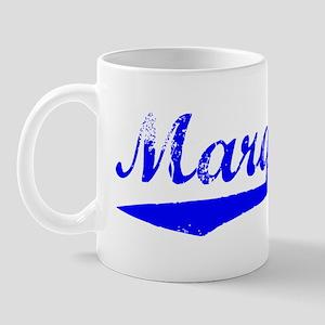 Vintage Marquette (Blue) Mug