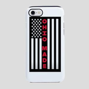 Ohio Made Flag iPhone 8/7 Tough Case