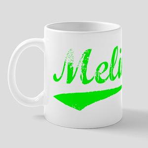 Vintage Melina (Green) Mug