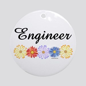 Engineer Asters Ornament (Round)