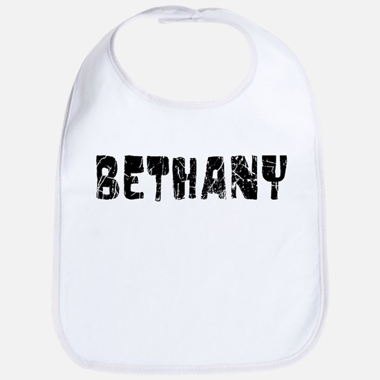 Bethany Faded (Black) Bib