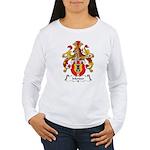 Mender Family Crest Women's Long Sleeve T-Shirt