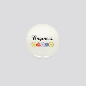 Engineer Asters Mini Button