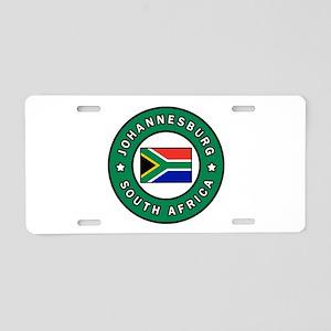 Johannesburg South Africa Aluminum License Plate