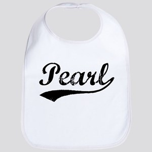 Vintage Pearl (Black) Bib