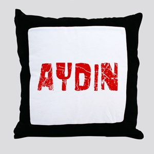 Aydin Faded (Red) Throw Pillow