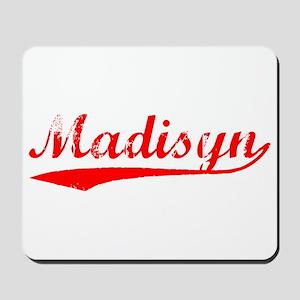 Vintage Madisyn (Red) Mousepad