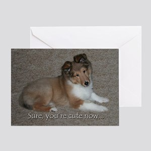 Cute Now Birthday Card