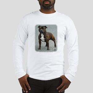 Staffordshire Bull Terrier 9F23-12 Long Sleeve T-S