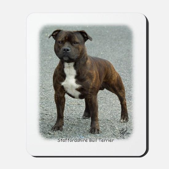 Staffordshire Bull Terrier 9F23-12 Mousepad