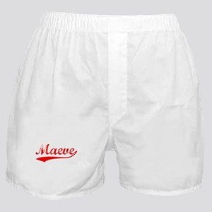 Vintage Maeve (Red) Boxer Shorts