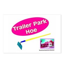 Trailer Park Hoe Postcards (Package of 8)