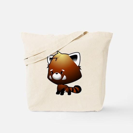 Kawaii Red Panda Tote Bag