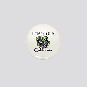 Temecula Grapes Mini Button